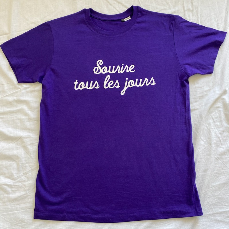 T-Shirt 3D Sourire tous les jours